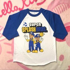 Other - Warriors Super Splash Bros Baseball Tee Mens Large